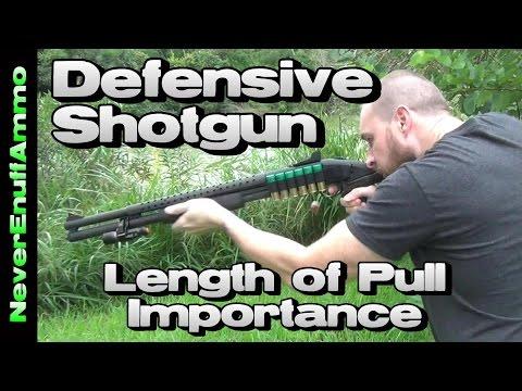 Defensive Shotgun - Length of Pull Importance & Stance