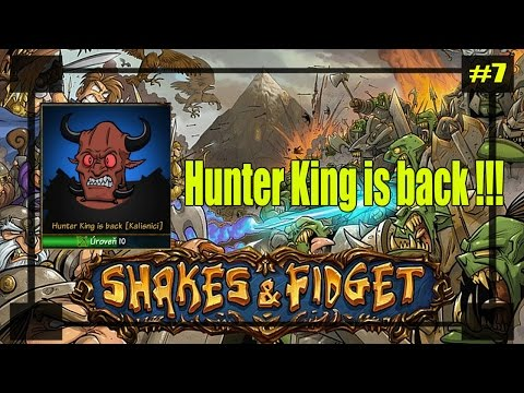 Shakes & fidget : Hunter King is back !!! Mexičan Demonko, Rapunzel down !!! #7