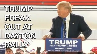 Donald Trump Rally in Dayton, Ohio: Secret Service, Chicago Rally, John Legend Says He's Racist