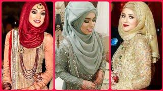 2020 Party Wear #Hijab Styles|#Wedding #Hijab #Styles|Fancy Hijab Styles|Hijab Style Dresses Ideas