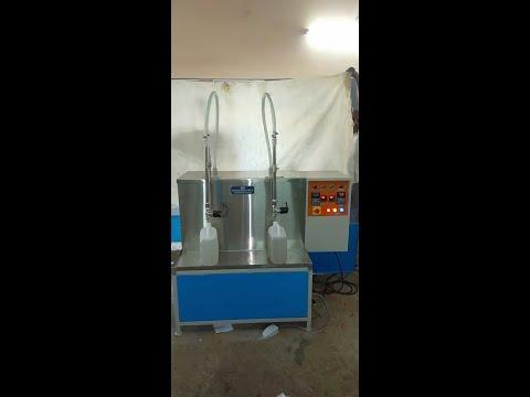 Double Head Thinner Liquid Filling Machine