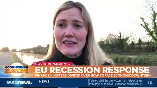 EU recession response: finance ministers divided over how to face economic downturn