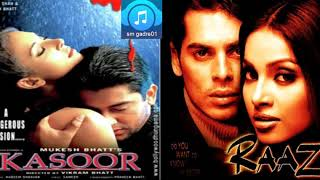 Bollywood Hit movies Kassor and Raaj HINDI JUKEBOX Songs