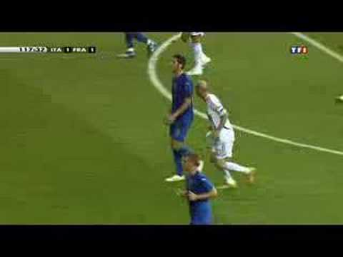 Image video Coup de boule de Zidane