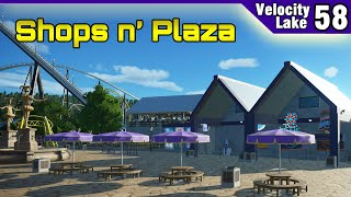 Velocity Lake (ep. 58) -  Tropical Shopping Plaza | Planet Coaster