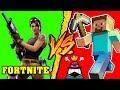 Fortnite VS Minecraft - Battaglia Rap Epica - Manuel Aski