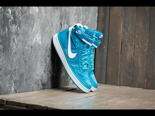 """14ada9cd Nike Vandal High Supreme """"Orbit Blue"""" unboxing, ON-FEET and review. 06:31  671"""