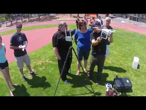 Here's Woz On A Segway, Filmed By A Drone