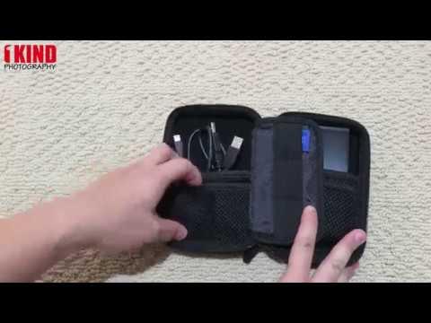 Overview: Estarer External Hard Drive / USB Flash Drives Bag / SD Cards Case