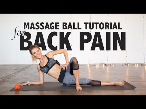 How to Use a Massage Ball to Relieve Back Pain