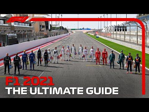 F1 2021シーズンのチーム・マシンを紹介する動画