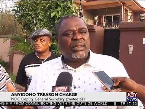 Anyidoho Granted Bail - The Pulse on JoyNews (29-3-18)
