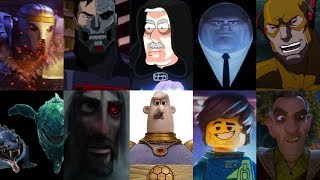 defeats of my favorite animated non-disney movie villains