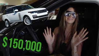 GETTING A $150,000 RANGE ROVER!!