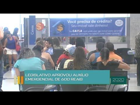 2020 na Câmara - Legislativo aprova auxílio emergencial de R$ 600 - 03/12/20