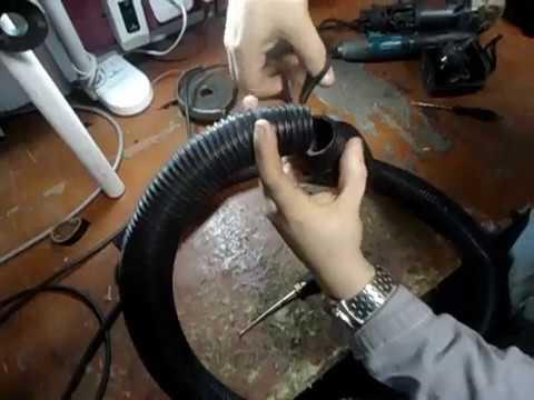 Como consertar a mangueira do aspirador pó.