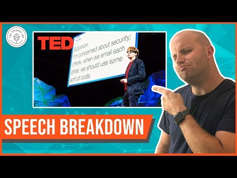 """Speech Breakdown: TED Talk by James Veitch (""""What Happens When You Reply To Spam Email"""") (видео)"""