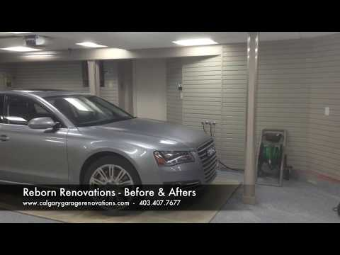 Calgary Garage Renovations - Reborn Renovations