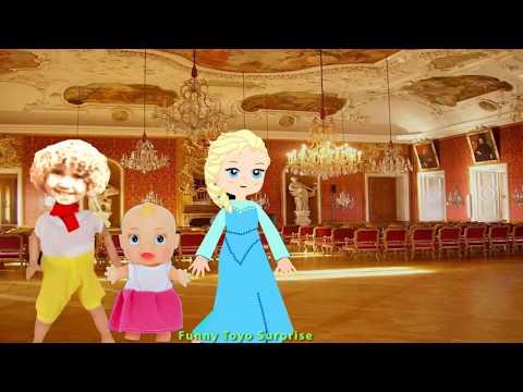 Knock Knock, Trick Or Treat? Cartoon Children Halloween Song Animation Nursery Rhimes Toyo Surprise