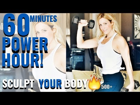 Power Hour Sculpt | 60 Minute Total Body Strength Workout
