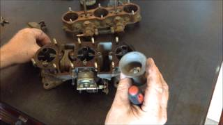 How Porsche 911 Weber Carbs Work with Joe Cogbill