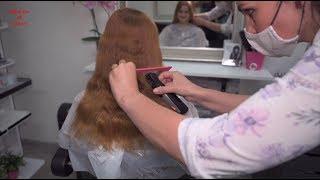 2020-10 Tereza Preview - Long Red Hair Cut To A Bob