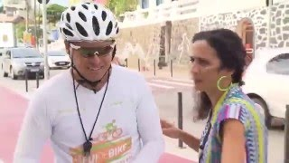 #jafuidebike No Mosaico Baiano Com Maria Menezes Na Garupa.