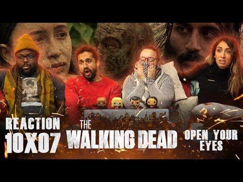 Walking Dead - 10x7 Open Your Eyes - Group Reaction
