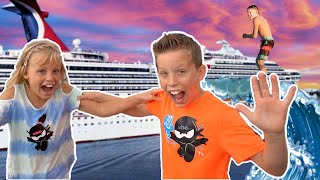 HUGE! Cruise Ship Tour! Vacation With Friends!