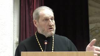 Выступление протоиерея Сергия на литературных чтениях в г. Тимашевске