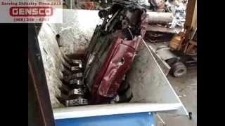 ZATO Blue Devil Scrap Metal Car Waste Shredder
