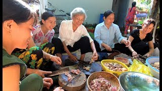 Đám Cưới Miền Tây mần nguyên con Bò - Hương vị đồng quê - Bến Tre