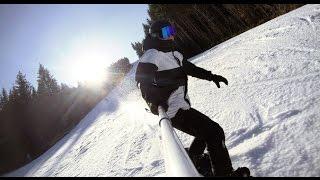 Буковель черная трасса 11С 115 км/час сноуборд