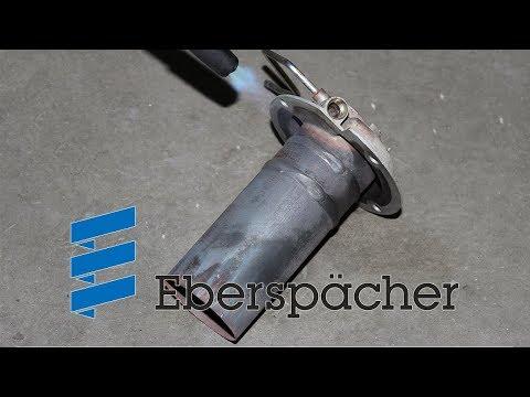 Eberspacher Hydronic ремонт блока управления, нагнетателя воздуха и чистка.