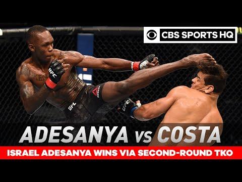 Israel Adesanya vs Paulo Costa: Adesanya retains title with TKO win   UFC 253 Recap  CBS Sports HQ