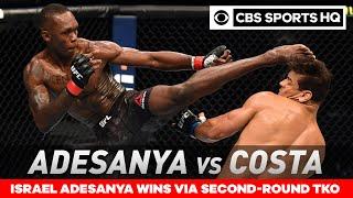 Israel Adesanya vs Paulo Costa: Adesanya retains title with TKO win | UFC 253 Recap| CBS Sports HQ