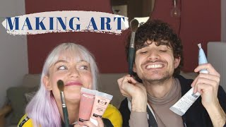 Art Session with Naomi Jon