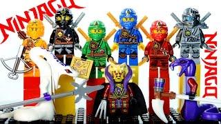 LEGO Ninjago 2015 Zukin Robes Masters of Spinjitzu KnockOff Minifigures Set 15 (DeCool)