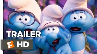 Smurfs The Lost Village Official Trailer 1 2017  Animated Movie