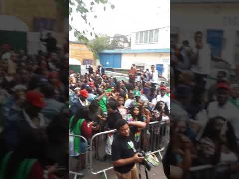 Seyi Sodimu at The Nigerian Corner 2018