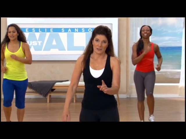 Interval Training - 10 Minute Walk at Home Routine | Fitness Videos