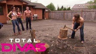 The Bellas challenge Daniel Bryan and John Cena: Total Divas, Aug. 4, 2013