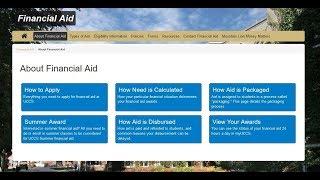 UCCS Financial Aid Orientation