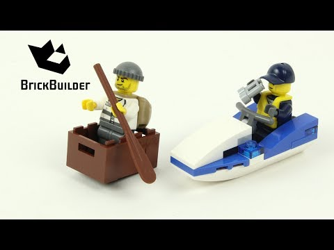 Vidéo LEGO City 30227 : Police Watercraft (Polybag)