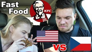 To je Hnus! Největší rozdíly mezi Českým a Americkým KFC