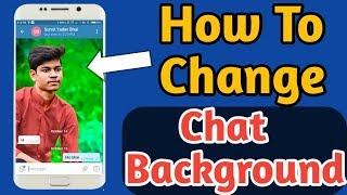 How To Change Chat Background in Telegram || Telegram Ka Background Change Kaise Kare ?