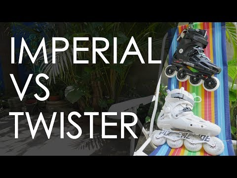 ROLLERBLADE TWISTER 80 VS POWERSLIDE IMPERIAL ONE 80 – INLINE SKATES REVIEW  // VLOG 191