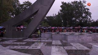 #100секунд. Открытие музыкального фонтана