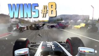 Racing Games WINS Compilation #8 (Accidental Wins, Drifts, Stunts & Close Calls)