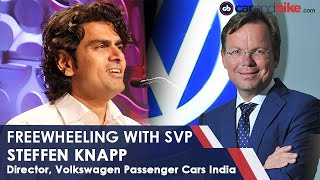 Freewheeling with SVP: Live with Director, VW India | carandbike